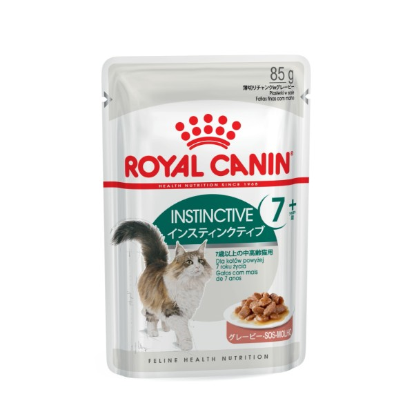 Royal Canin Senior Instictive +7 - omaka- 85 g
