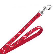 Nobby povodec za trening Mini, 200 cm – rdeč