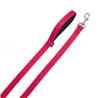Nobby Soft Grip povodec - rdeč - 200 cm 10 mm