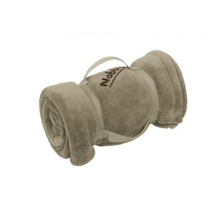 Nobby potovalna odeja Soft, sivo rjava - 100 x 150 cm