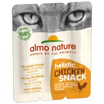 Almo Nature Holistic Snack Stick, piščanec - 3 x 5 g