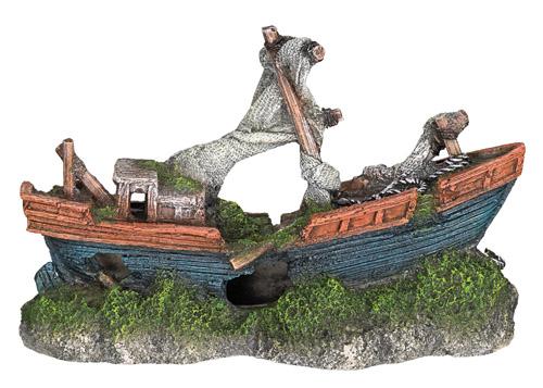 Nobby dekor ladja - 21 x 8 x 13,5 cm