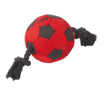 Nobby najlon žoga na vrvi - 15 cm