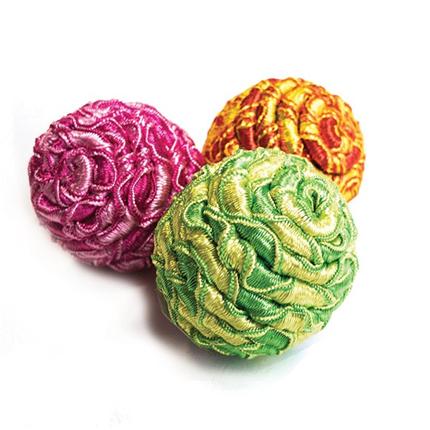 Nobby žoga iz vrvi - 3,5 cm