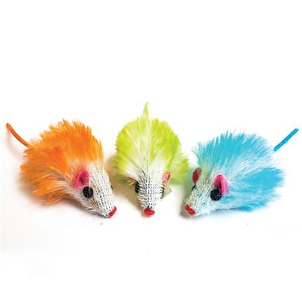 Nobby barvna miš - 5 cm