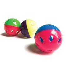 Nobby PVC žoga+zvonček - 4 cm
