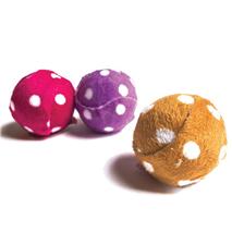 Nobby žoga iz blaga s pikami - 4 cm
