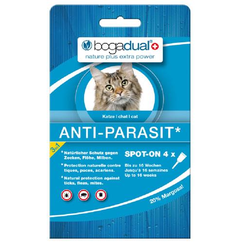 Bogadual pipeta za mačke (nad 1,5 kg) - 16 tednov