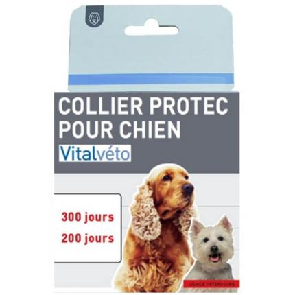 Vitalveto ovratnica za majhne in srednje pse - 300 dni