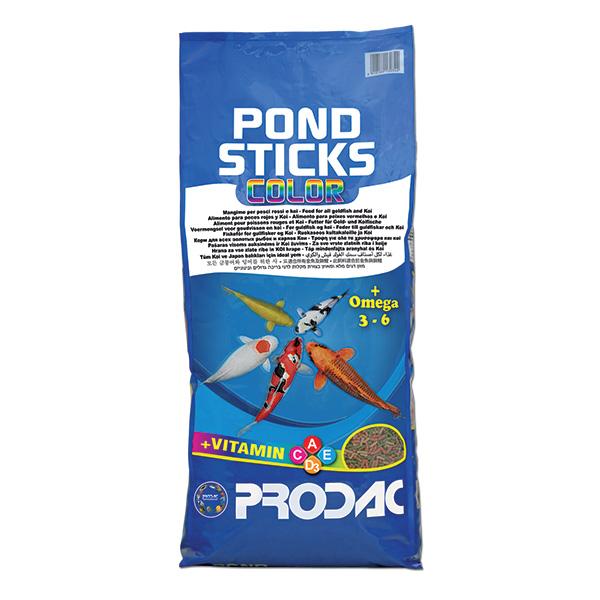 Prodac Pondsticks Color, barvne palčke - 5 kg