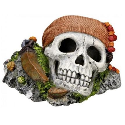 Nobby dekor lobanja pirata - 14,5 x 12,5 x 8,5 cm