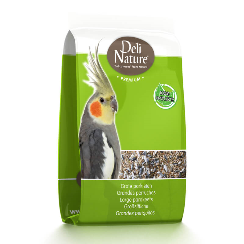 Deli Nature Premium hrana za večje papige (nimfa) - 1 kg