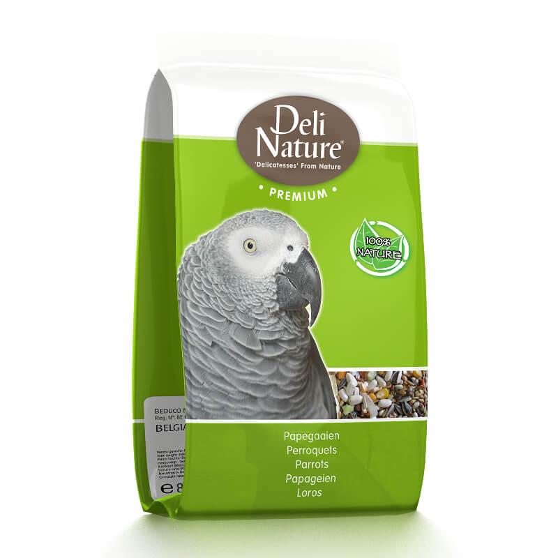 Deli Nature Premium hrana za velike papige (žako) - 0,8 kg