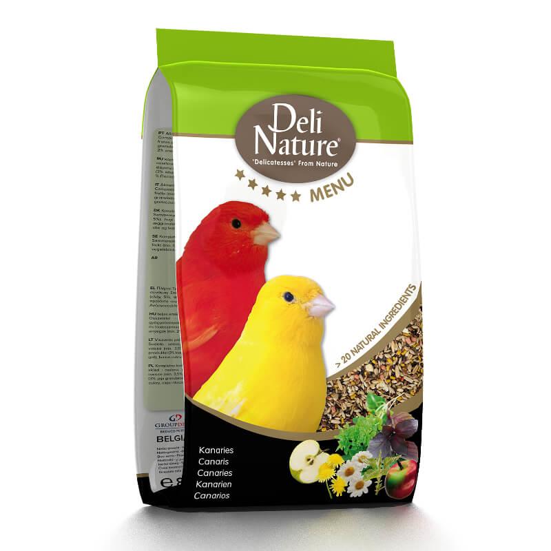 Deli Nature 5* hrana za kanarčke - 0,8 kg