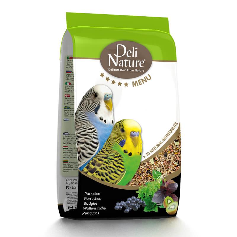 Deli Nature 5* hrana za papige (skobčevka) - 0,8 kg