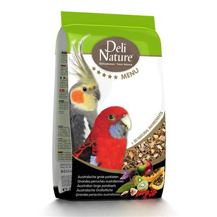 Deli Nature 5* hrana za nimfe - 2,5 kg