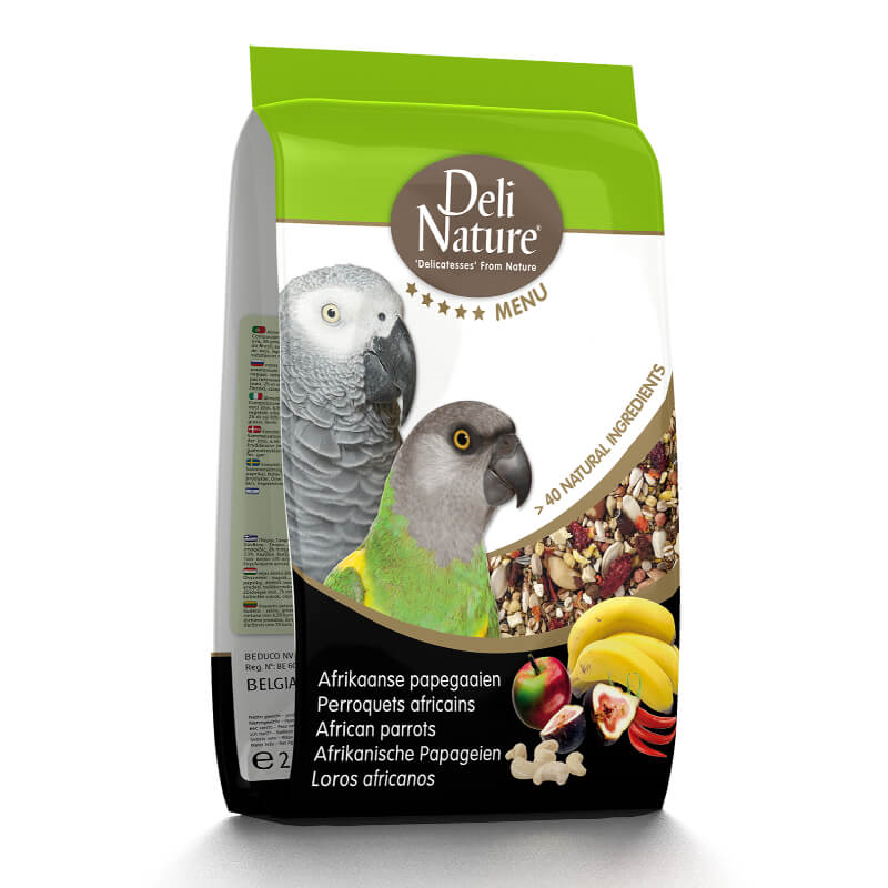 Deli Nature 5* hrana za velike papige (žako) - 2,5 kg