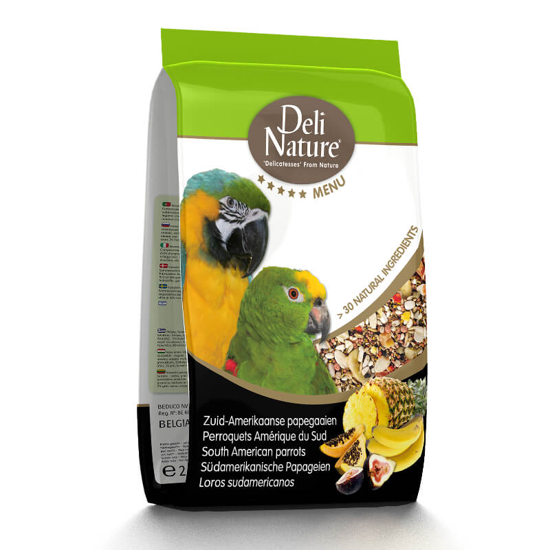 Deli Nature 5* hrana za velike papige (ara) - 2,5 kg