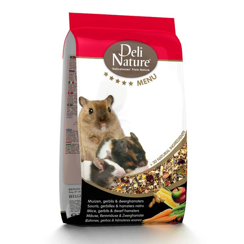 Deli Nature 5* hrana za miši, skakače, mini hrčke - 0,75 kg