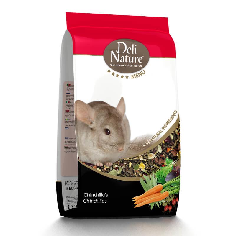 Deli Nature 5* hrana za činčile - 2,5 kg