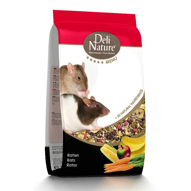 Deli Nature 5* hrana za podgane - 2,5 kg