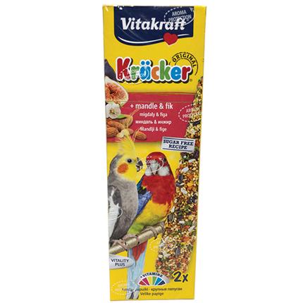 Vitakraft kreker za srednje papige sadje, 2 kos - 180 g