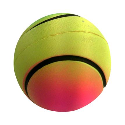 Nobby Moosgummi mavrična žoga - 4,7 cm