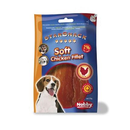Nobby Starsnack piščančji fileji – 70 g