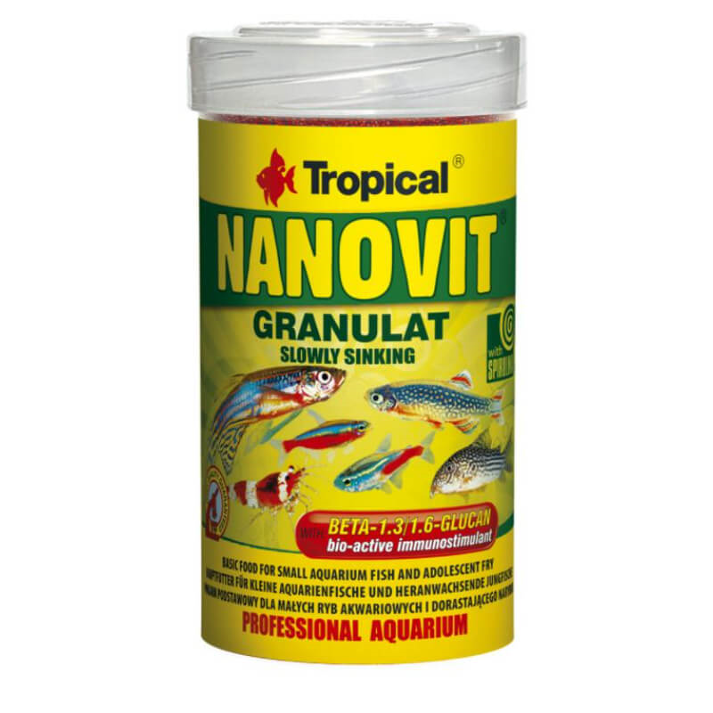 Tropical Nanovit granulat - 100 ml / 70 g