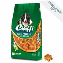 Ciuffi testenine z zelenjavo brez kuhanja - 3 kg