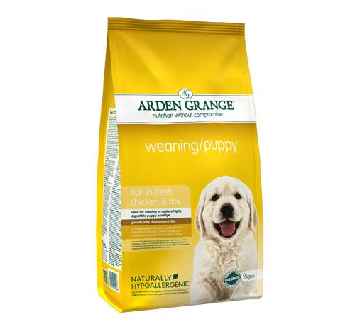Arden Grange Weaning Puppy – piščanec in riž - 2 kg