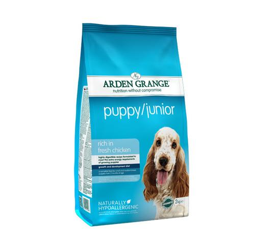 Arden Grange Puppy/Junior Mini – piščanec in riž 2 kg