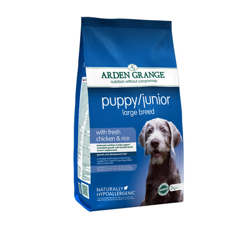 Arden Grange Adult Puppy Junior Large – piščanec in riž - 12 kg