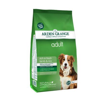 Arden Grange Adult – jagnjetina in riž - 2 kg