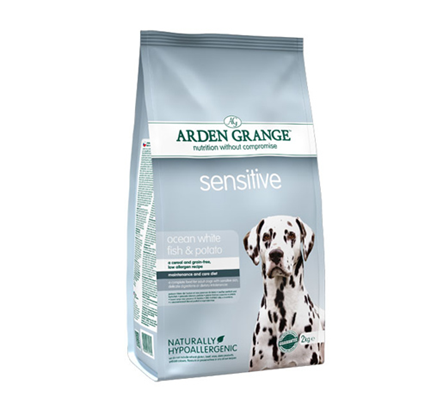 Arden Grange Sensitive – bela riba in krompir - 12 kg