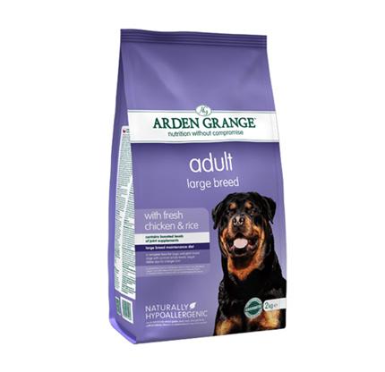 Arden Grange Adult Large – piščanec in riž - 2 kg