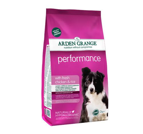 Arden Grange Performance – piščanec in riž 2 kg