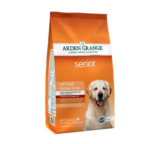Arden Grange Senior – piščanec in riž 2 kg