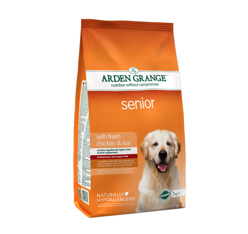 Arden Grange Senior – piščanec in riž 12 kg