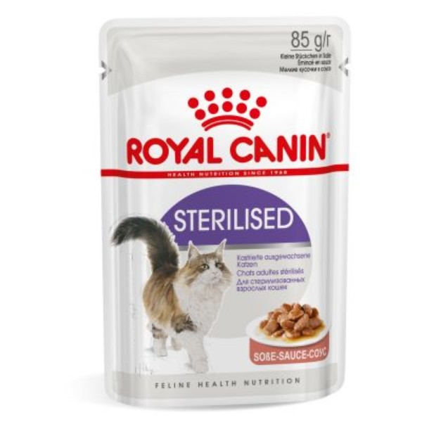 Royal Canin Adult Sterilised - omaka- 85 g