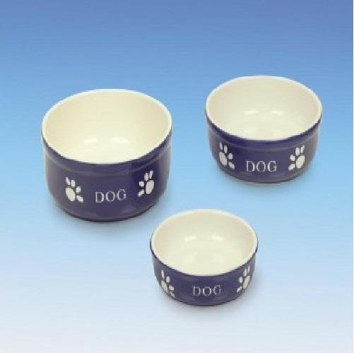 Nobby posoda keramika, modra in bež - 12 cm