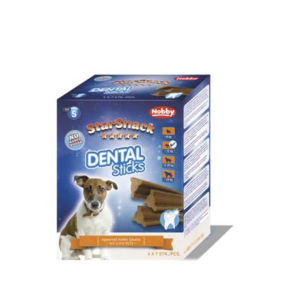 Nobby Starsnack Dental Sticks palčke Small – 400 g