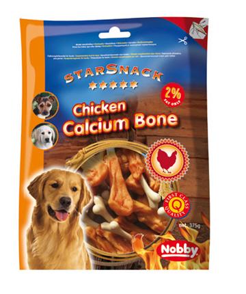 Nobby Starsnack piščančja bedra, z dodanim kalcijem – 375 g