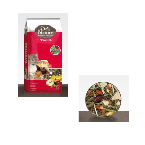 Deli Nature Premium hrana za činčile - 15 kg