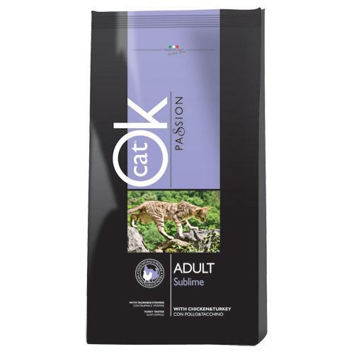 Ok Cat Passion Adult Sublime - puran in piščanec - 1,5 kg
