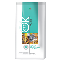 Ok Cat Passion Light/Sterilized - puran - 1,5 kg