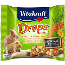 Vitakraft Drops Happy korenje - 40g