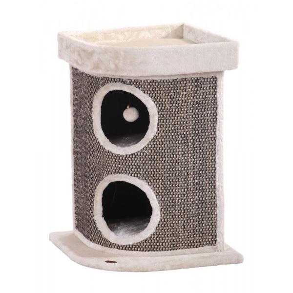 Nobby Nalos praskalnik za mačke, bež - 64 cm