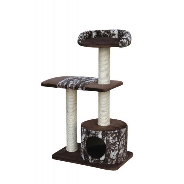 Nobby Conat praskalnik za mačke, rjav - 56 x 38 x 99 cm
