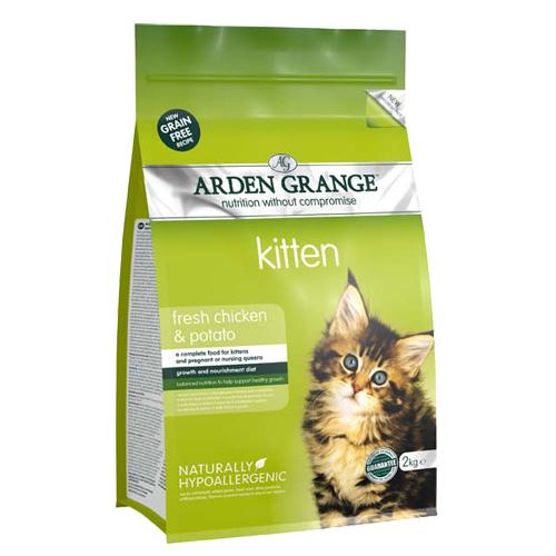 Arden Grange Kitten -piščanec - 2 kg